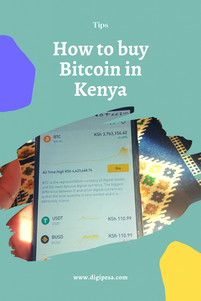 how to buy bitcoin in Kenya